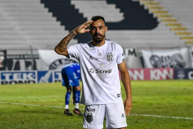 Ponte Preta não fez gols nos últimos jogos (Foto: Álvaro Jr./PontePress)