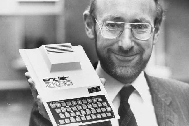 Sir Clive Sinclair e o ZX80