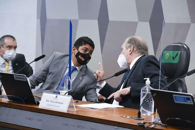 """Wagner Rosário chegou a ser advertido por Tasso Jereissati, no exercício da presidência, para """"baixar a bola"""""""
