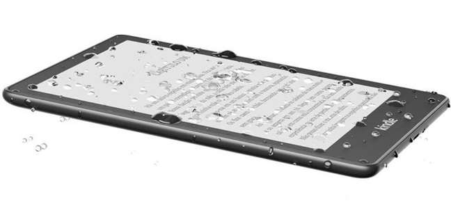 Kindle Paperwhite Signature Edition também tem IPX8