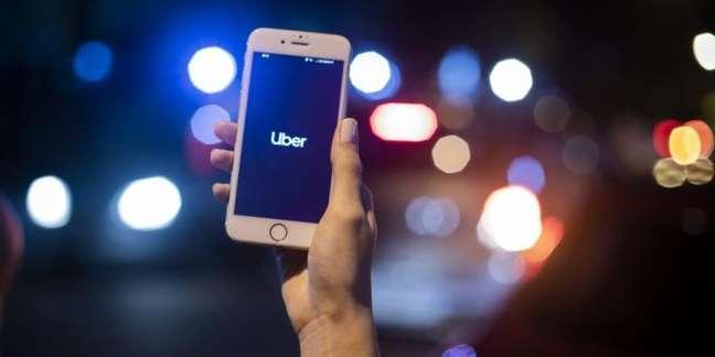 Uber no celular