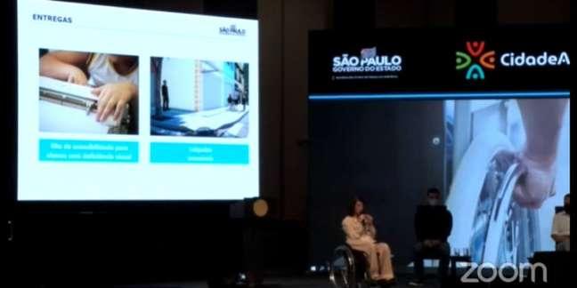 Evento do Governo do Estado fez homenagem a atletas paralímpicos e anunciou centro multiolímpico na cidade de São Paulo.