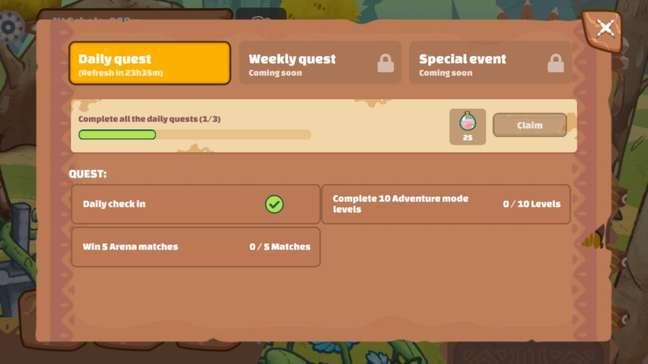 Missões diárias recompensam SLP no Axie Infinity