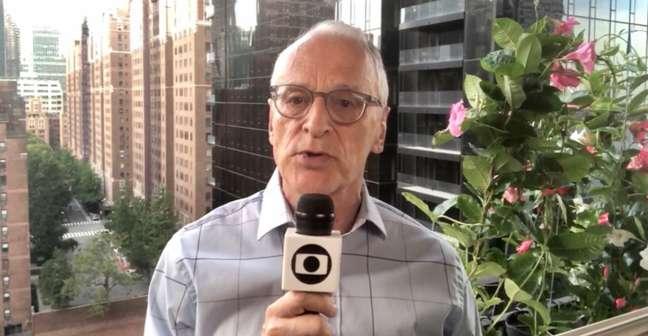 Jorge Pontual disse que a presença de Bolsonaro em Nova York não desperta a atenção dos telespectadores americanos