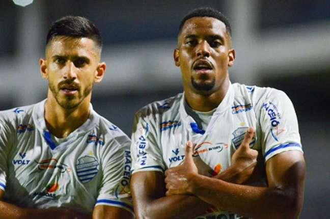 Time do CSA na Série B do Brasileirão (Augusto Oliveira/CSA)