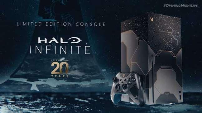 Xbox Series X de Halo Infinite chega em dezembro