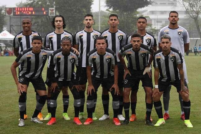 Time sub-20 do Botafogo (Foto: Vítor Silva/Botafogo)