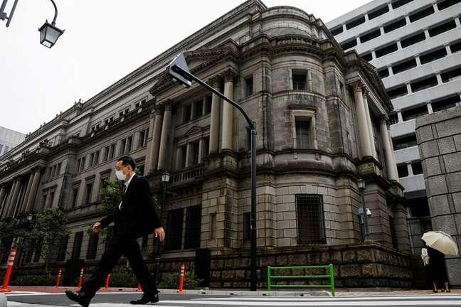 Sede do BC do Japão em Tóquio 22/056/2020. REUTERS/Kim Kyung-Hoon
