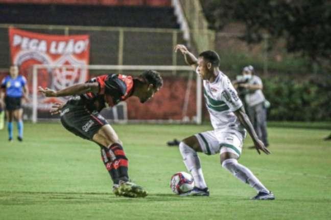 Vitória e Coritiba empataram sem gols nesta quarta-feira (Foto: Divulgação/Coritiba)