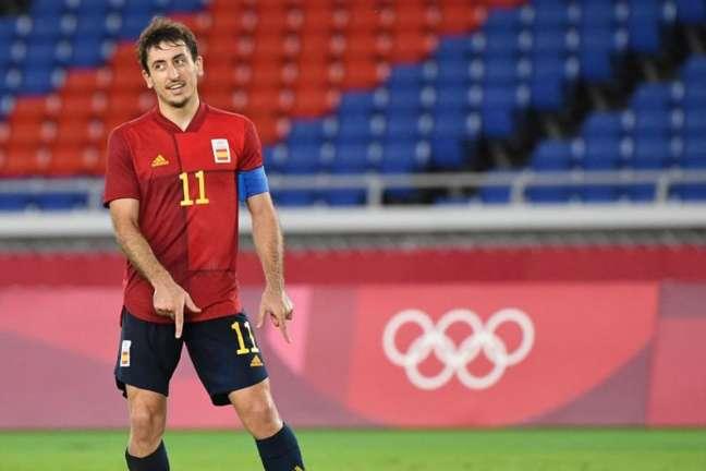 Oyarzabal conquistou a medalha de prata com a Espanha nas Olimpíadas de Tóquio (Foto: TIZIANA FABI / AFP)