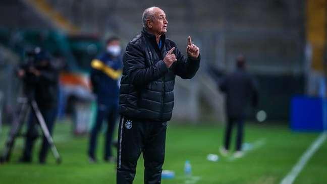Com Felipão, o Grêmio vem se recuperando no Campeonato Brasileiro (Foto: Lucas Uebel / Gremio)
