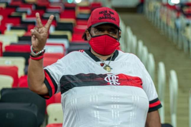 Contra o Grêmio, torcedores do Flamengo voltaram ao Maracanã na última quarta-feira (AFP)