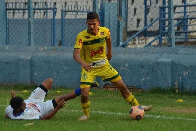 Gabriel Tota se destacou na vitória do Mirassol sobre o Monte Azul no Paulistão sub-20 (Foto: Divulgação/Mirassol)