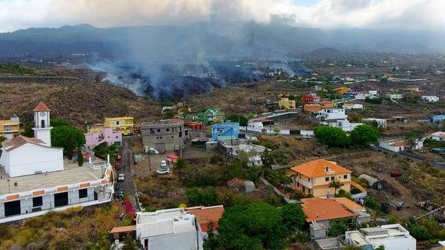 Cerca de 70% das casas do bairro de El Paraíso foram destruídas