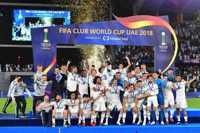 Emirados Árabes recebeu o Mundial de Clubes pela última vez em 2018 (Foto: GIUSEPPE CACACE / AFP)