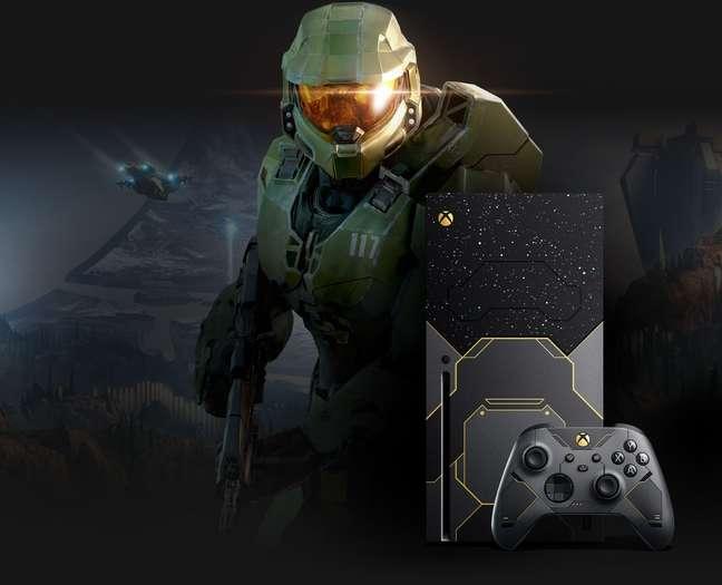 Xbox Series X Edição Especial Halo Infinite