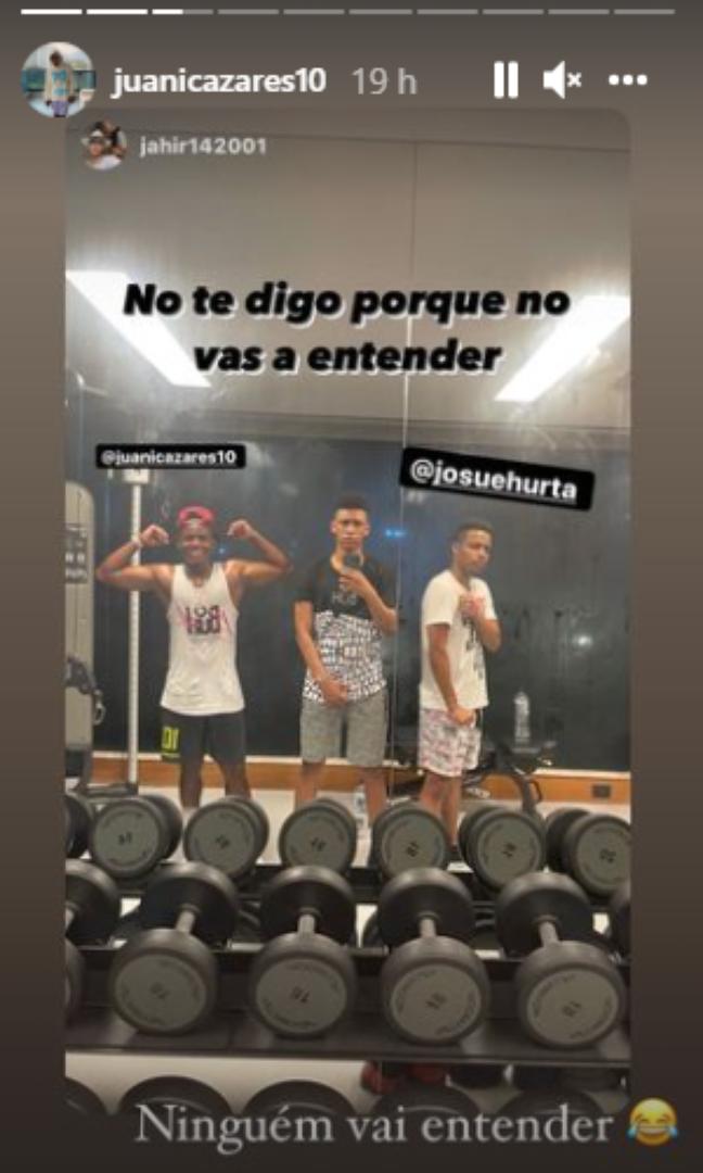 Foto postada por Cazares após críticas. (Foto: Divulgação/Instagram)
