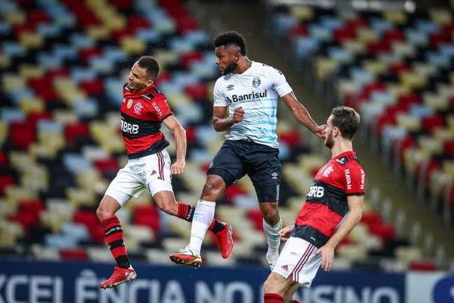 No fim de semana, Borja marcou diante do Flamengo (FOTO: LUCAS UEBEL/GREMIO FBPA)