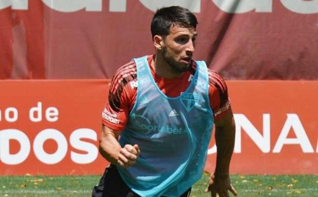 São Paulo treinou nesta quinta-feira (23) (Foto: Erico Leonan / saopaulofc)