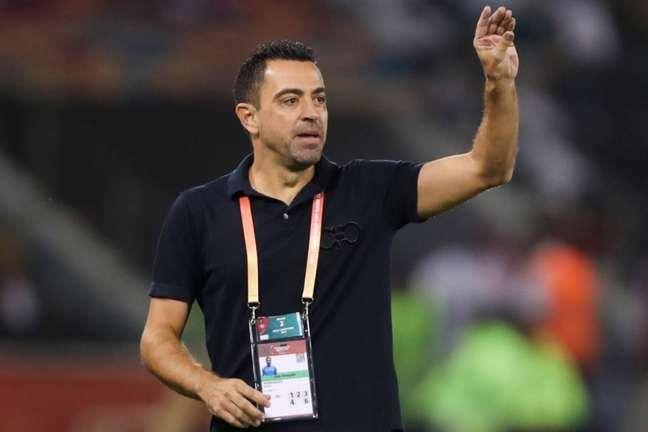 Al Sadd, de Xavi, divide a liderança do Campeonato Qatari (Karim Jaafar / AFP)