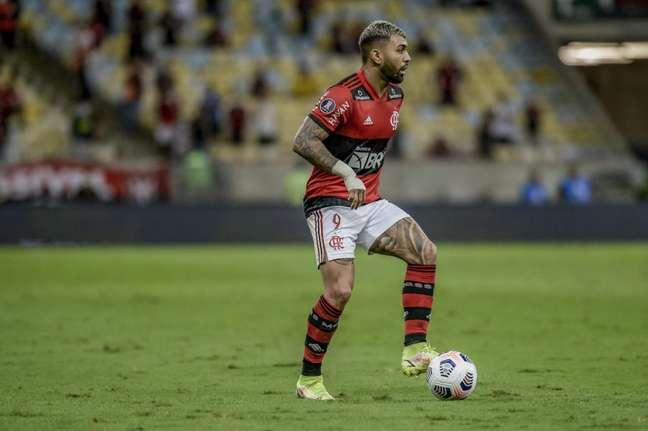 Gabigol foi um dos destaques do Flamengo em campo (Foto: Marcelo Cortes/Flamengo)