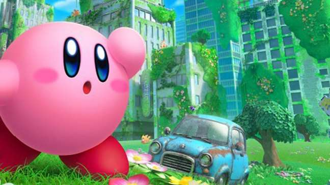 Kirby and the Forgotten Land chega em 2022