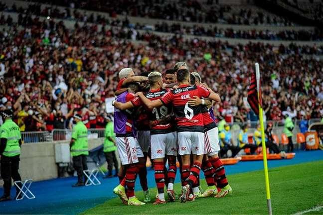 Flamengo venceu o primeiro jogo das semifinais (Foto: Marcelo Cortes / Flamengo)