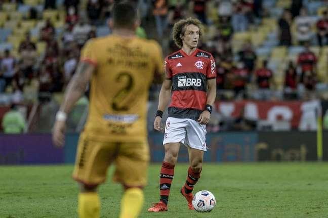 David Luiz não disputava uma partida oficial desde o dia 2 de maio (Foto: Marcelo Cortes/Flamengo)