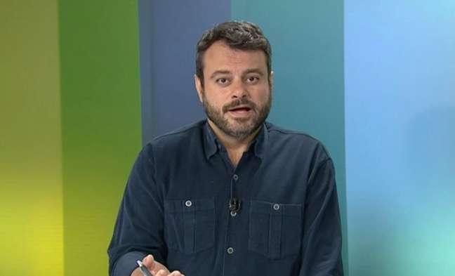 Eric Faria é repórter da Globo (Reprodução)