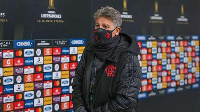 Renato Gaúcho é o técnico do Flamengo (Foto: Staff Images/Conmebol)