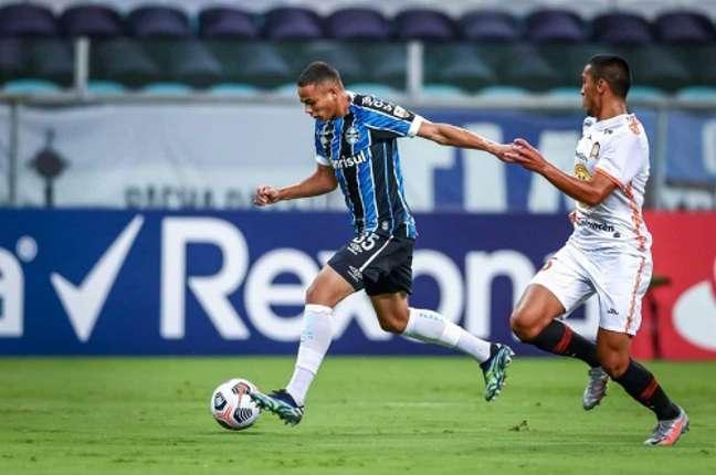 Vanderson é uma das revelações do Grêmio (Foto: twitter Grêmio)
