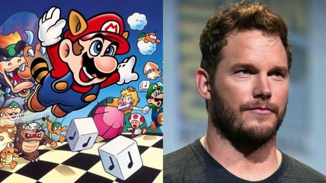 Chris Pratt será a voz de Mario no novo filme para cinemas