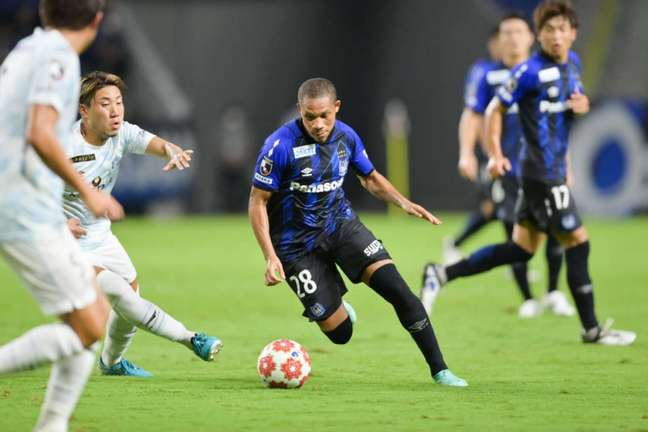 Wellington Silva foi peça importante na construção da vitória do Gamba Osaka (Divulgação)