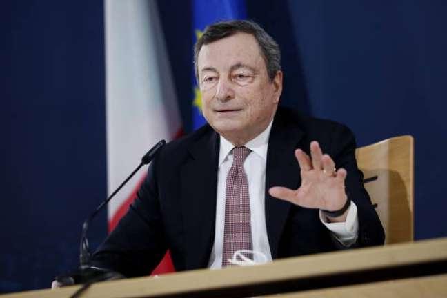 Draghi participou de evento da ONU sobre sistemas alimentares