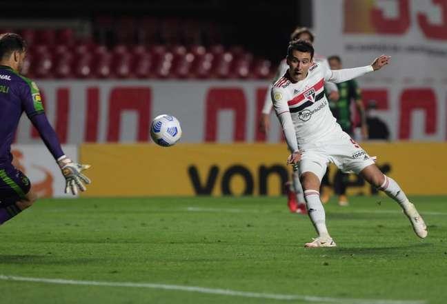 Pablo foi o titular do ataque são-paulino (Foto: Rubens Chiri / saopaulofc)