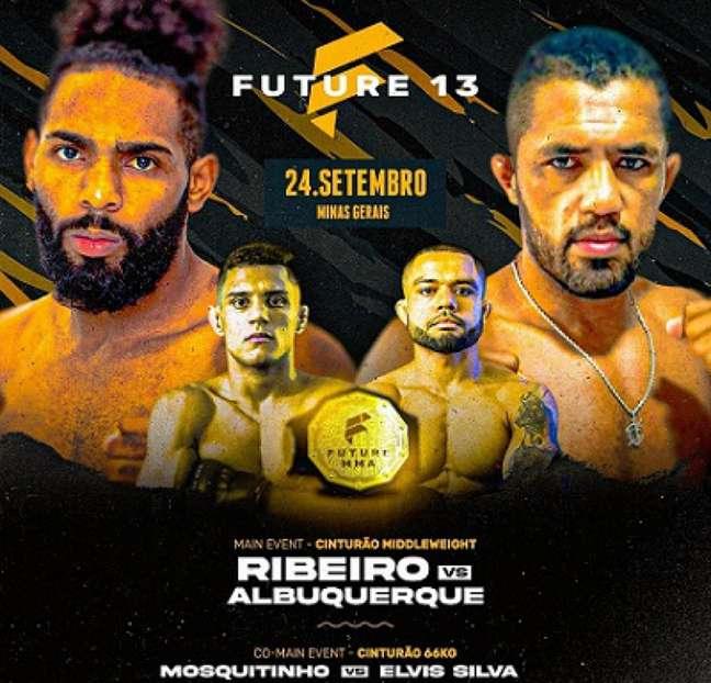 Edição 13 do Future FC MMA vai acontecer nesta sexta-feira, em Minas Gerais (Foto: Divulgação)