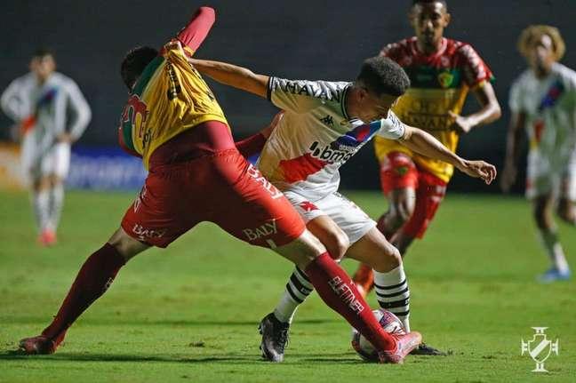 No primeiro turno, o Vasco venceu por 2 a 1 em São Januário (Foto: Rafael Ribeiro/Vasco)