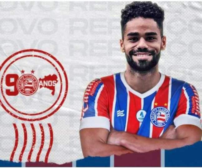 Raí é o novo atacante do Bahia (Divulgação/Bahia)