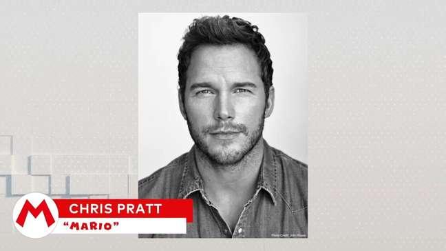 Chris Pratt será a voz de Mario no novo filme da Illumination Entertainment