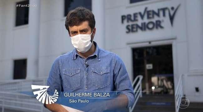 Guilherme Balza esteve onipresente nos telejornais da Globo e GloboNews nos últimos dias