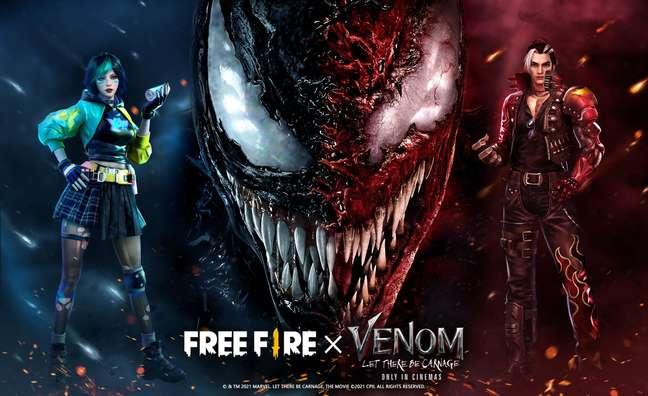 Free Fire x Venon