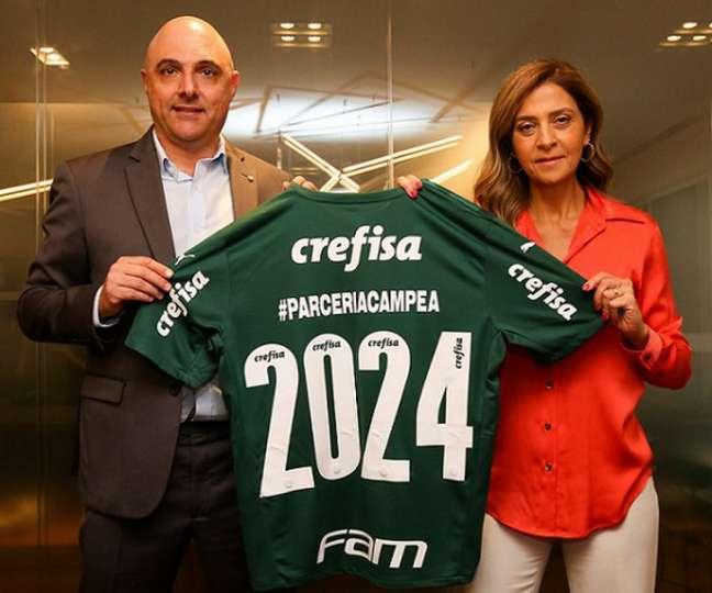 Leila Pereira não terá adversários na eleição presidencial do Palmeiras em novembro (Foto: Fabio Menotti)