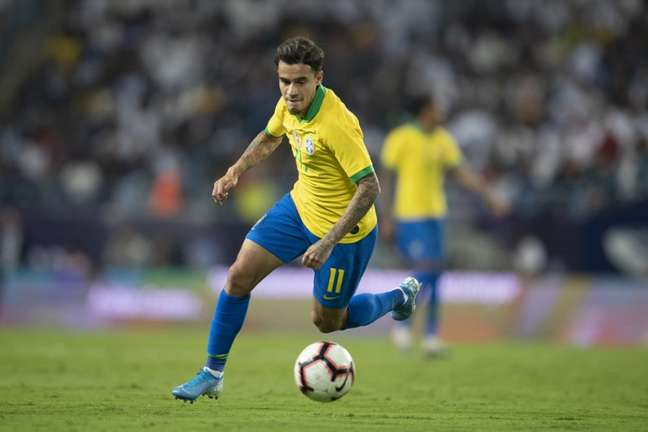 Coutinho esteve na pré-lista de 40 atletas da Seleção (Foto: Lucas Figueiredo/CBF)