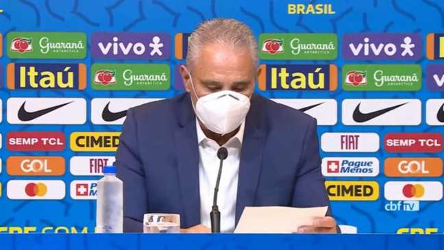 Brasil enfrentará Venezuela, Colômbia e Uruguai nas Eliminatórias (REPRODUÇÃO/CBF TV)