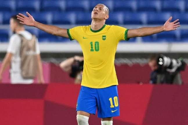 Richarlison não foi convocado por Tite para a Seleção Brasileira (Foto: DANIEL LEAL-OLIVAS / AFP)