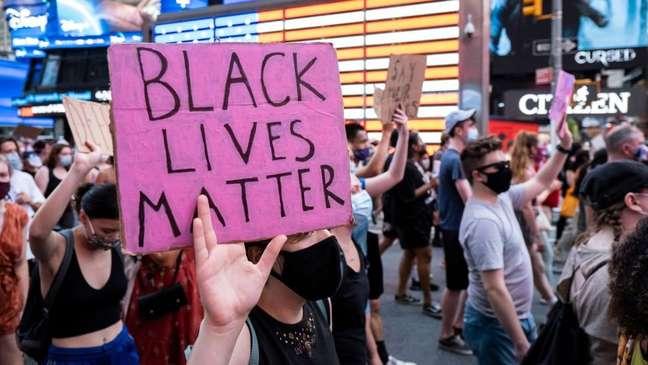 2020 foi marcado por protestos contra racismo e brutalidade policial nos EUA