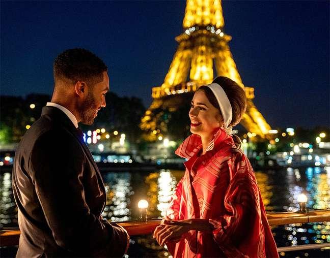 Foto da 2ª temporada de 'Emily em Paris'