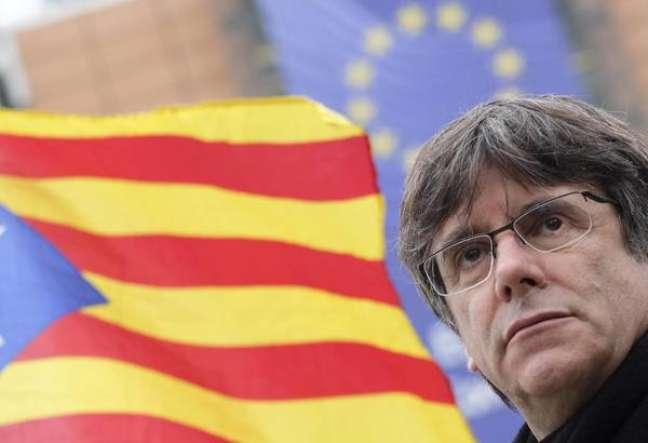 Carles Puigdemont é deputado do Parlamento Europeu