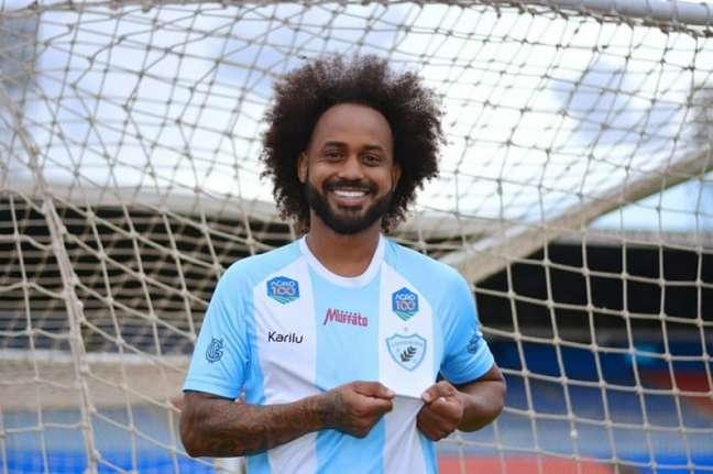 Atleta foi alvo de ofensa racista em jogo da Série B entre Brusque e Londrina (Gustavo Oliveira/Londrina EC)