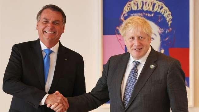 Bolsonaro e Johnson se reuniram em Nova York durante viagem para participar da Assembleia Geral da ONU